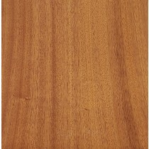 African Mahogany Veneer With 3M Backing